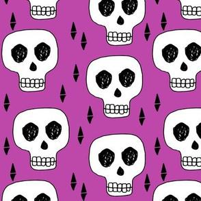 skull // skulls purple halloween  scary kids baby october halloween