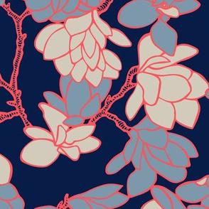 Magnolia Story Branches - Original