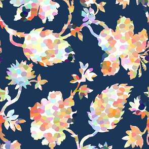 Pippa Floral / Navy