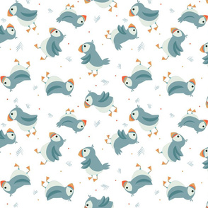 Baby Puffins Large Scale