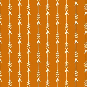 arrows // rust orange stripe nursery baby kids baby boy camping quilt coordinate