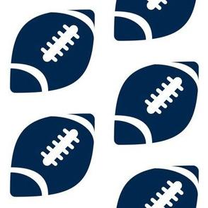 Half-Drop Football Cowboys Blue