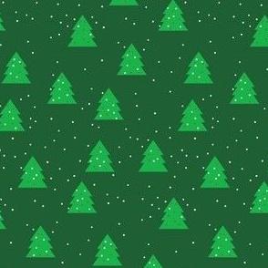 Festive Pine Trees