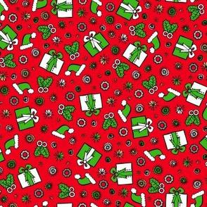 Santa Robot's Presents (Red)