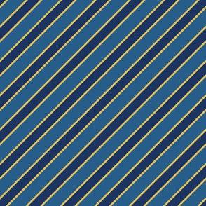 school idol cafe maid - blue stripes