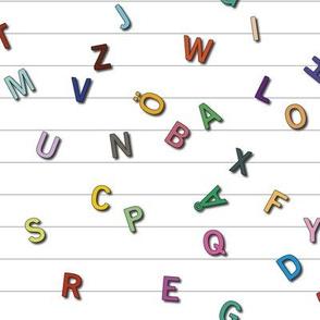 Letters A-Ö