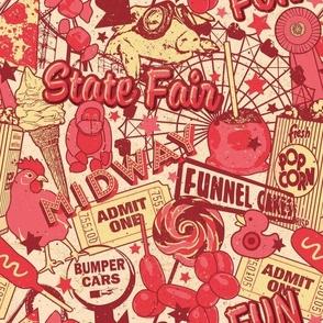 Retro Red State Fair