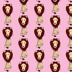 Lion_on_Pink