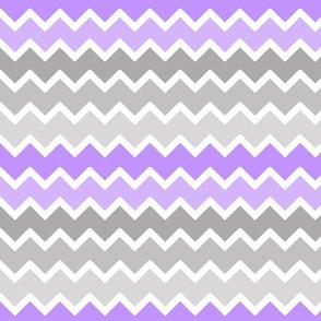 purple lavender lilac grey gray ombre chevron zigzag pattern