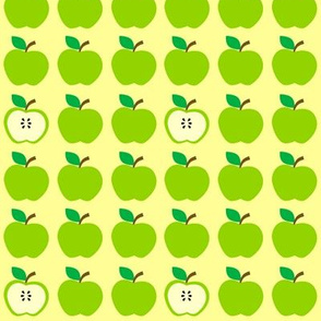 Green Apples Everywhere Yellow