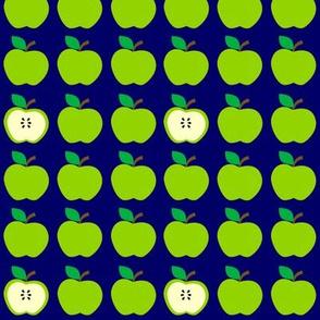 Green Apples Everywhere Blue