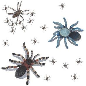 Creepy 3D Spider Swarm