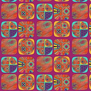 Circs and squares on magenta