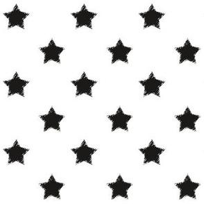 Black_Stars_on_White_background