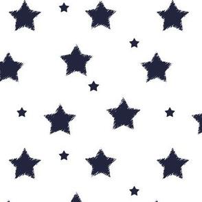 Navy_Stars_on_White_Background