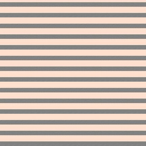 Gray and Light Blush Stripes