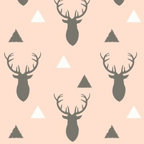 Woodland_Deer_Triangles_Light_Blush
