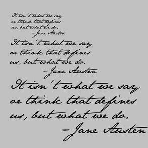 Danita's Favorite Quote by Jane
