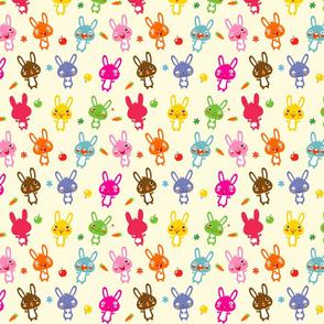 Funny Bunny | rainbow