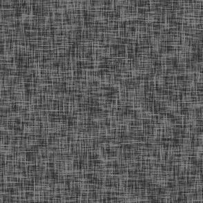 night grey // linen look grey fabric linen texture solid