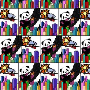 Panda vs. Jet