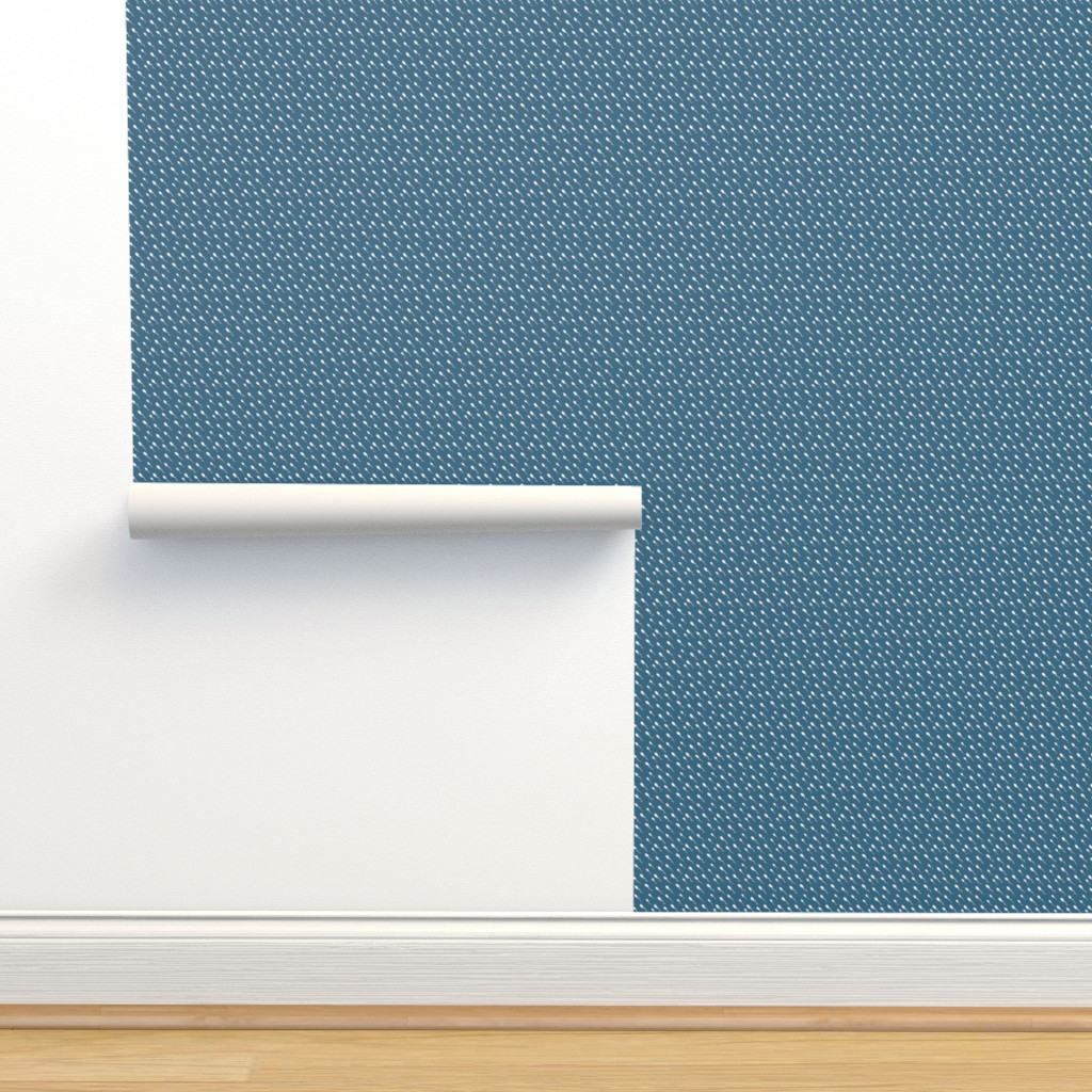 Isobar Durable Wallpaper featuring Swimming Sperm in Blue by joanandrose