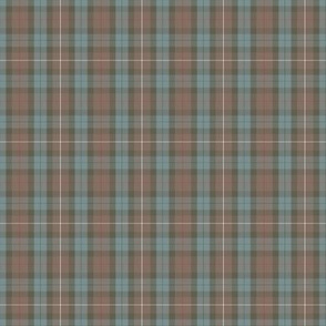 "Fraser Hunting tartan,  2"" weathered greyed"