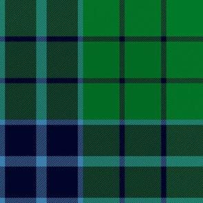 """Innes green hunting tartan variant, 8"""""""