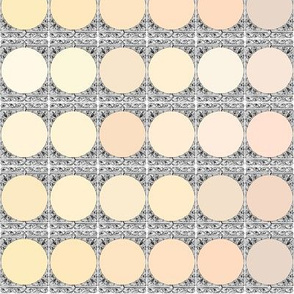 Peacoquette Palette ~ Creams and Neutrals