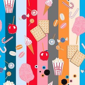 Fun Fair Coordinate (Sweet Stripes)