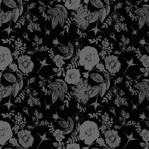 Shadow dark roses