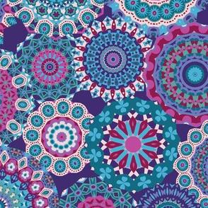 Millefiori Mandalas_Berry Good Colorway