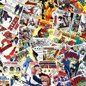 vintage comic book heroes