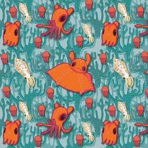 Dumbo Octopi & Squid-Light