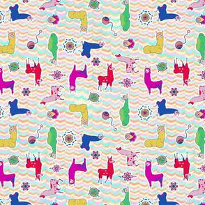 Colorful Llamas