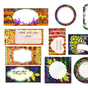 Autumn Drop-cloth - Quilt Labels