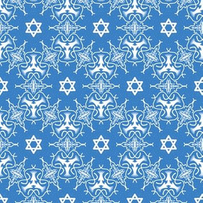 Star of David Medallion Pattern