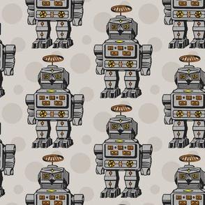 Grey robots