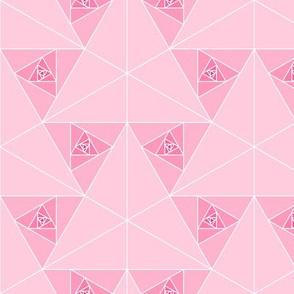 triangular geo roses