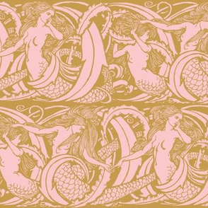The Mermaids ~ Gilt with Dauphine