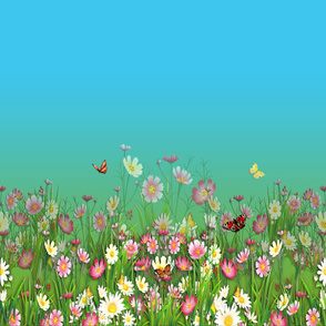 Flowers-Grasses_Border_Print_60