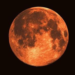harvest moon supermoon