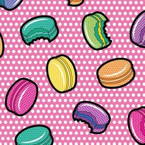 Lichtenstein Macarons - Pink