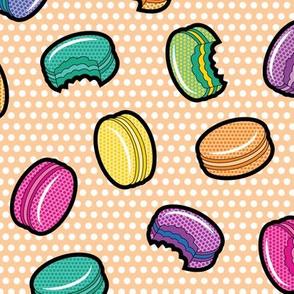Lichtenstein Macarons - Orange