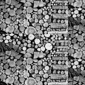 Vermont woodpile