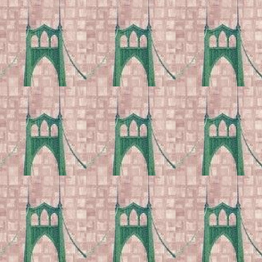 St Johns Bridge (mauve bricks)