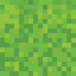 8-bit Grass Block