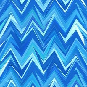 blue topaz chevron