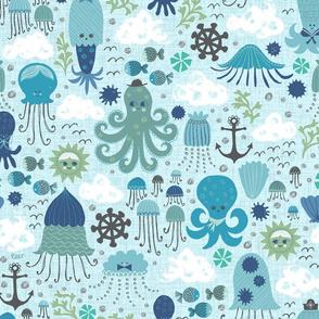 Inky Blue Sea
