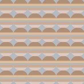 Horizontal Circle Stripes